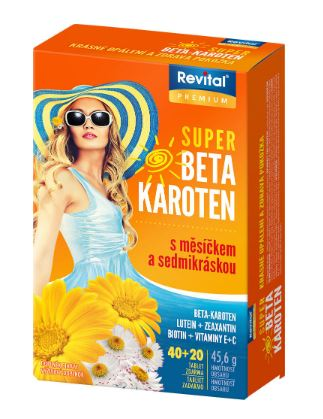Revital Super Beta karoten 60 tablet