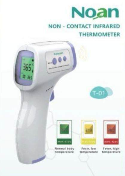 Noan non-contact infrared thermometer
