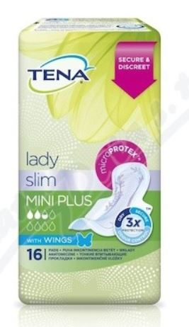 Tena Lady Slim Mini Plus Wings 16 ks