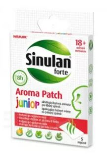 Walmark Sinulan Forte Aroma Patch Junior 5 ks