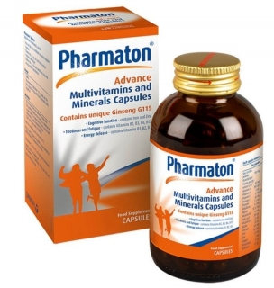 Pharmaton Advance Multivitamins & Minerals Capsules 100 kapsúl